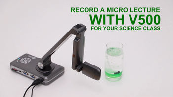 Record A Micro Video With Joy-Doccam V500 For Your Science Class